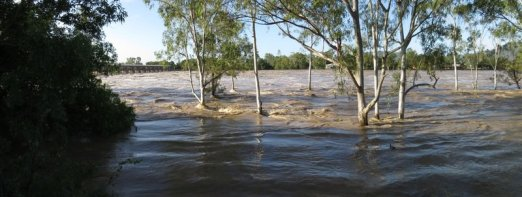 flooding from river