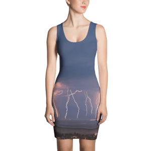 Lightning Dress Photo Credit by Rustling Leaf Design