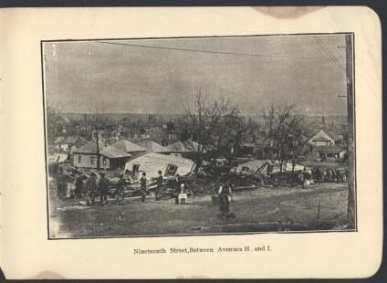 March 25, 1901 Birmingham Tornado Damage