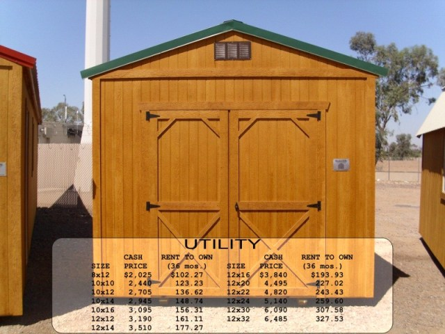 Weatherking Utility Shed