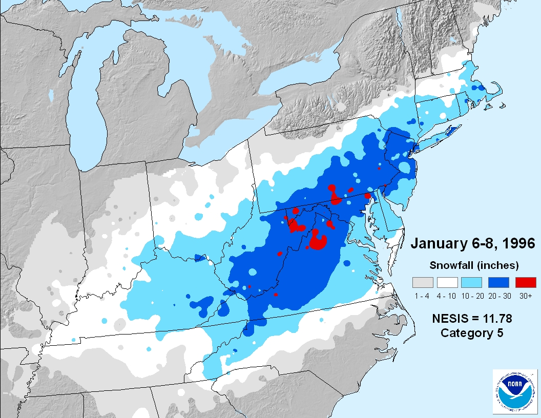 Major New Jersey Snow Storms