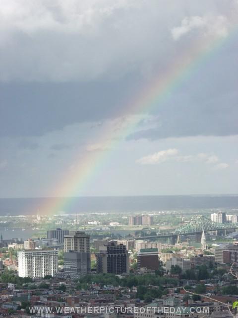 Canada Day Rainbow