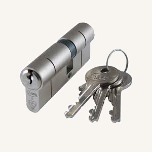 Cylinder lock for upvc casement door from Deceuninck
