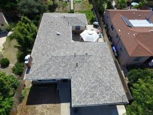 San Diego composition Shingle roof