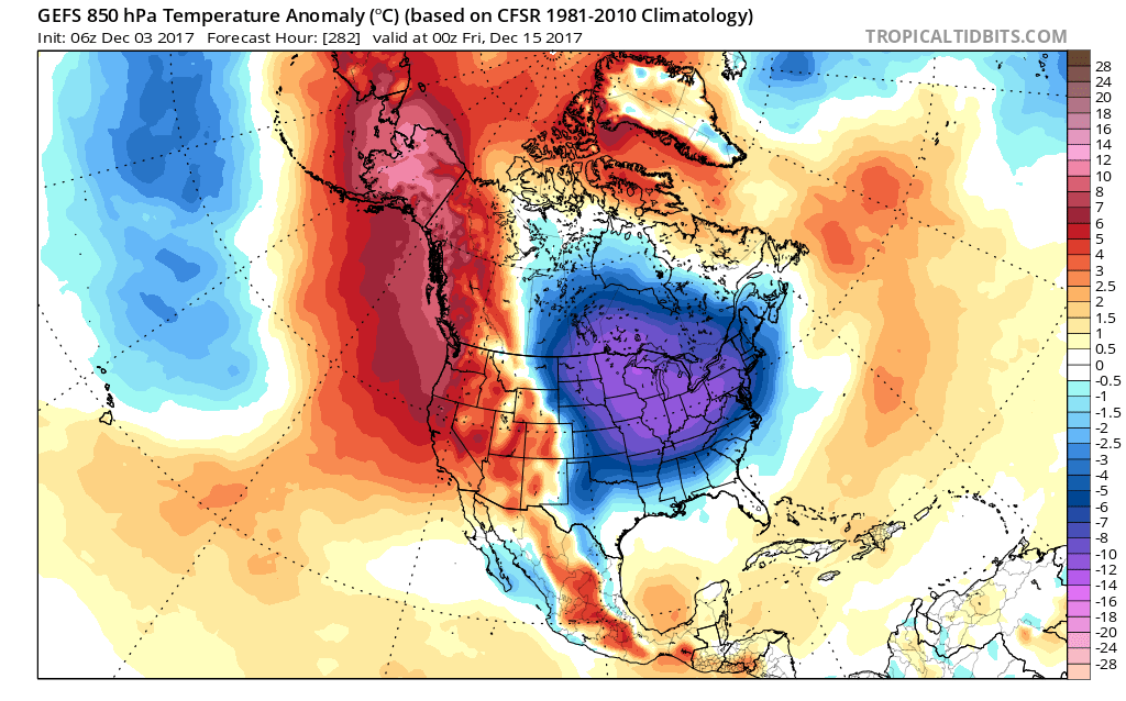New insights into the Ridiculously Resilient Ridge & North American ...