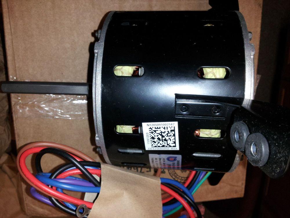 medium resolution of goodman 11091203sp furnace blower motor oem warranty