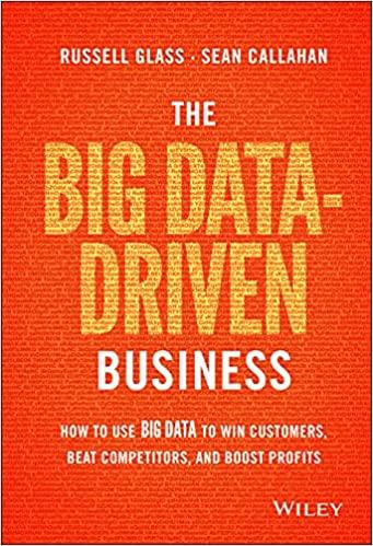The Big Data-Driven Business digital marketing books