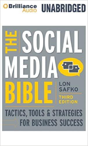 The Social Media Bible digital marketing books