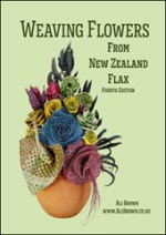 Weaving Flowers from New Zealand Flax