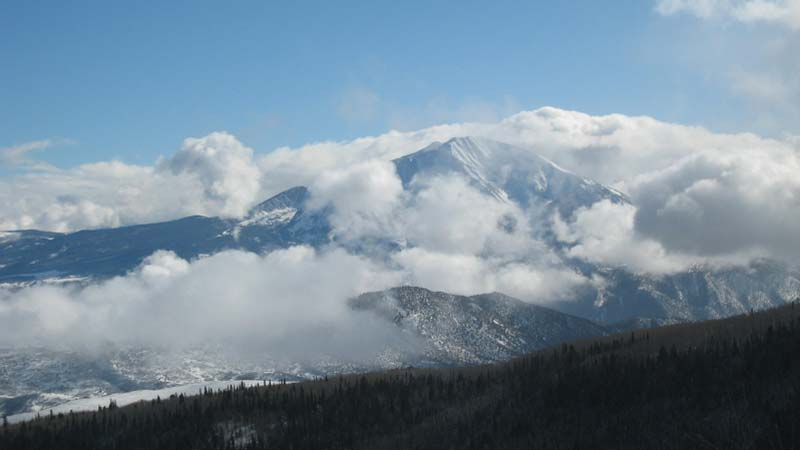 Mt. Sopris - Winter