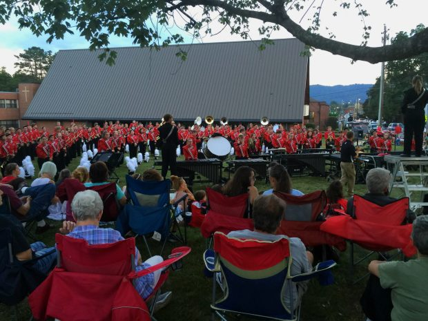 North Buncombe High School BlackHawk Band