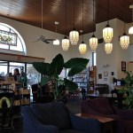 Interior photo of the Weaverville Public Library
