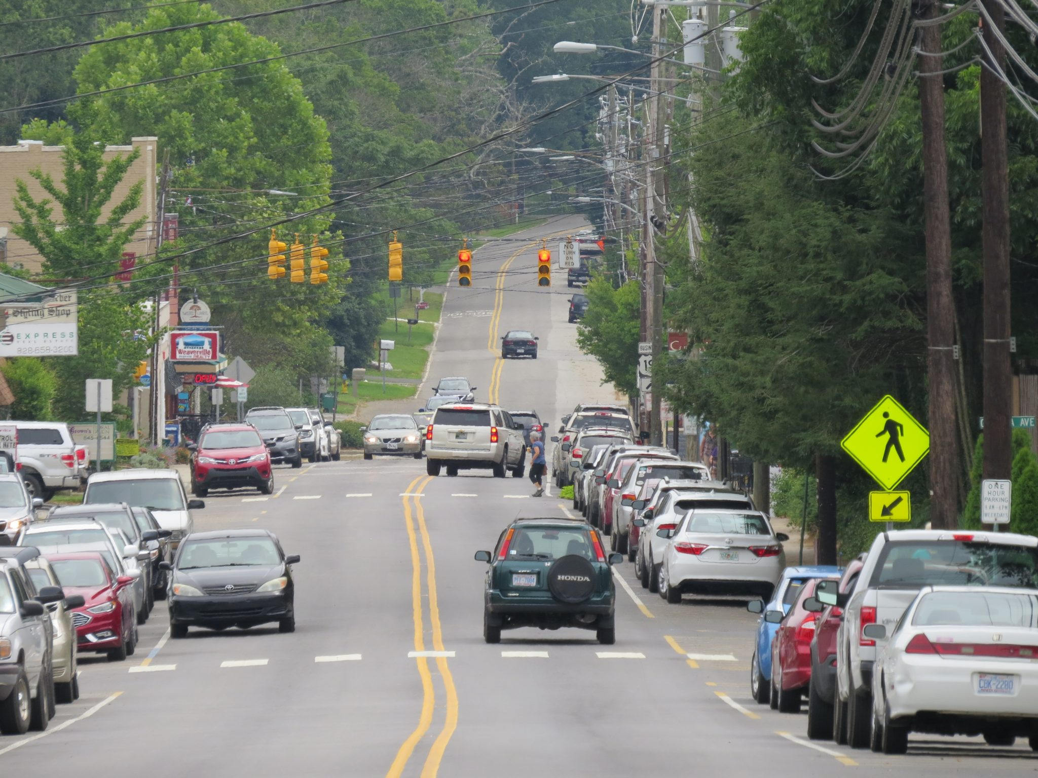 Town Of Weaverville NC Downtown North