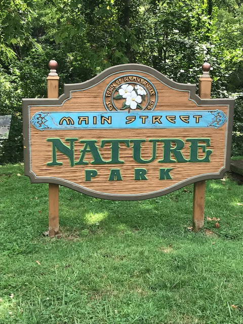 Main Street Nature Park Entrance
