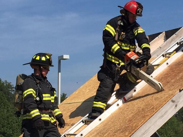 Weaverville Fire Department training.