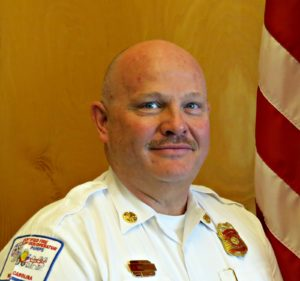 Fire Chief Ted Williams