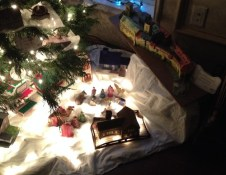 The Nativity with the Wartburg