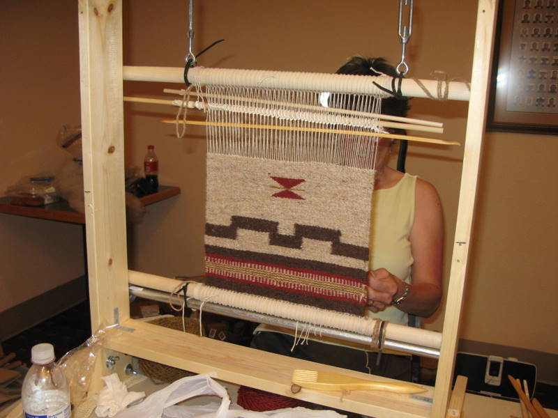 Spring Weaving in Beauty Class Natural Dyes the Navajo Way  Weaving in Beauty