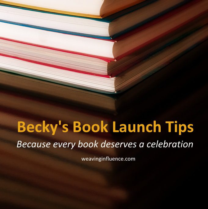 Best Book Launch Tips: Let Your Goals Guide Your Strategy