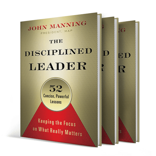 Featured on Friday: The Disciplined Leader Author @JohnMManning