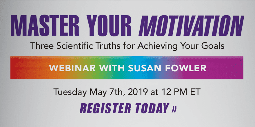 Master Your Motivation – with Susan Fowler
