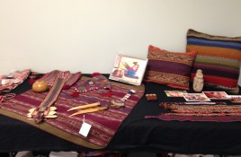 Peruvian textiles on display