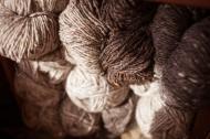Donegal Tweed stash, by Alice Carfrae ©