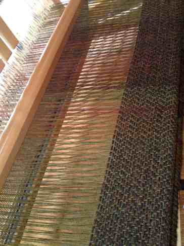 Saddle blanket tweed early inches
