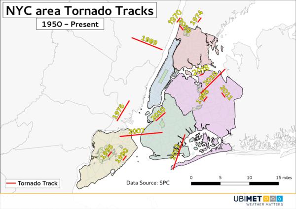 Tornados in New York
