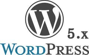 WordPress.org 5.x logo grey header