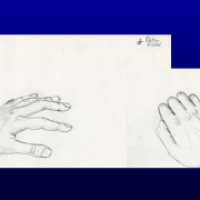 In 1986 attending a Design College in Munich Dieter had to sketch different objects like his hands,...