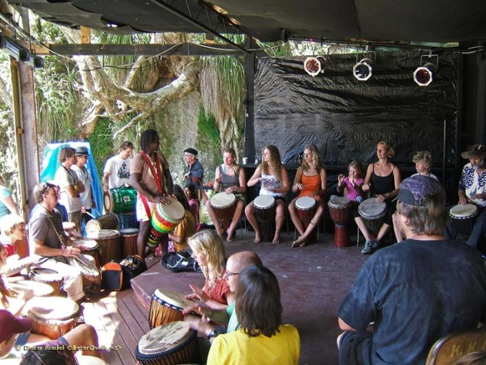 African Drum Circle at Prana