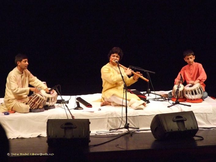 Indian Classical music concert with Pt Rakesh Chaurasia and Basant Madhur