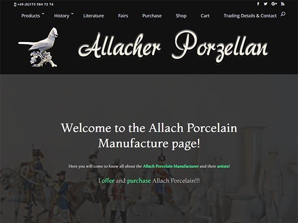 Allach Porcelain Homepage