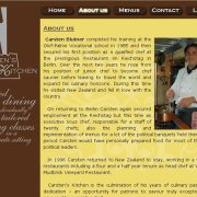 Carstens Kitchen About us page;