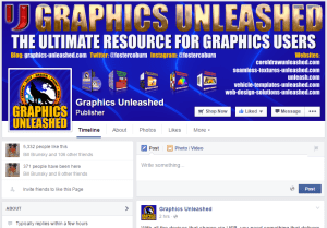 Graphics Unleashed Facebook Page