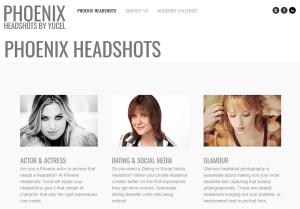 Phoenix Headshots Web Site