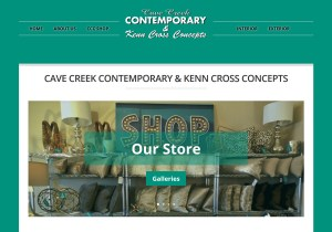 Cave Creek Contemporary Web Site