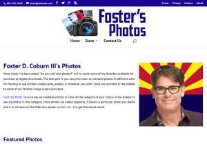 Foster's Photos Web Site