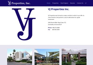 VJ Properties Web Site