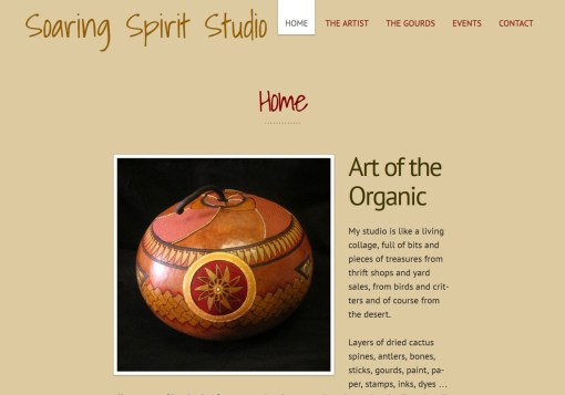 Soaring Spirit Studio Web Site