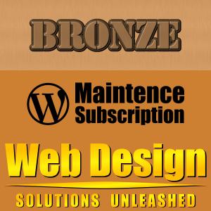 Bronze WordPress Maintenance Plan