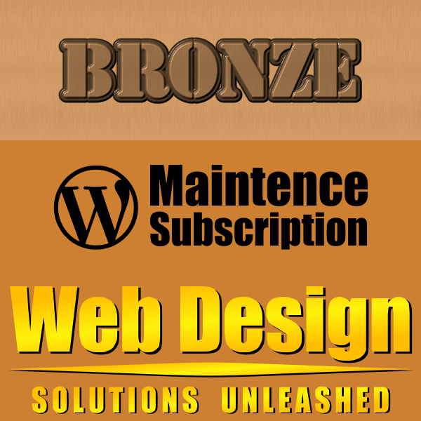 WordPress Maintenance Bronze Subscription