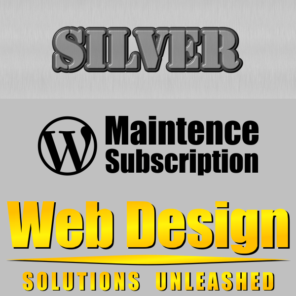 WordPress Maintenance Silver Subscription
