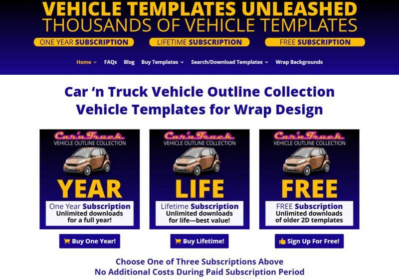 Vehicle Templates Unleashed