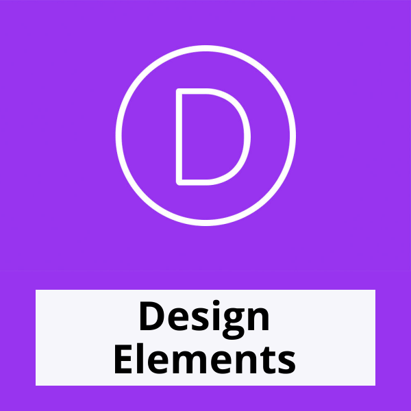 Divi Design Elements