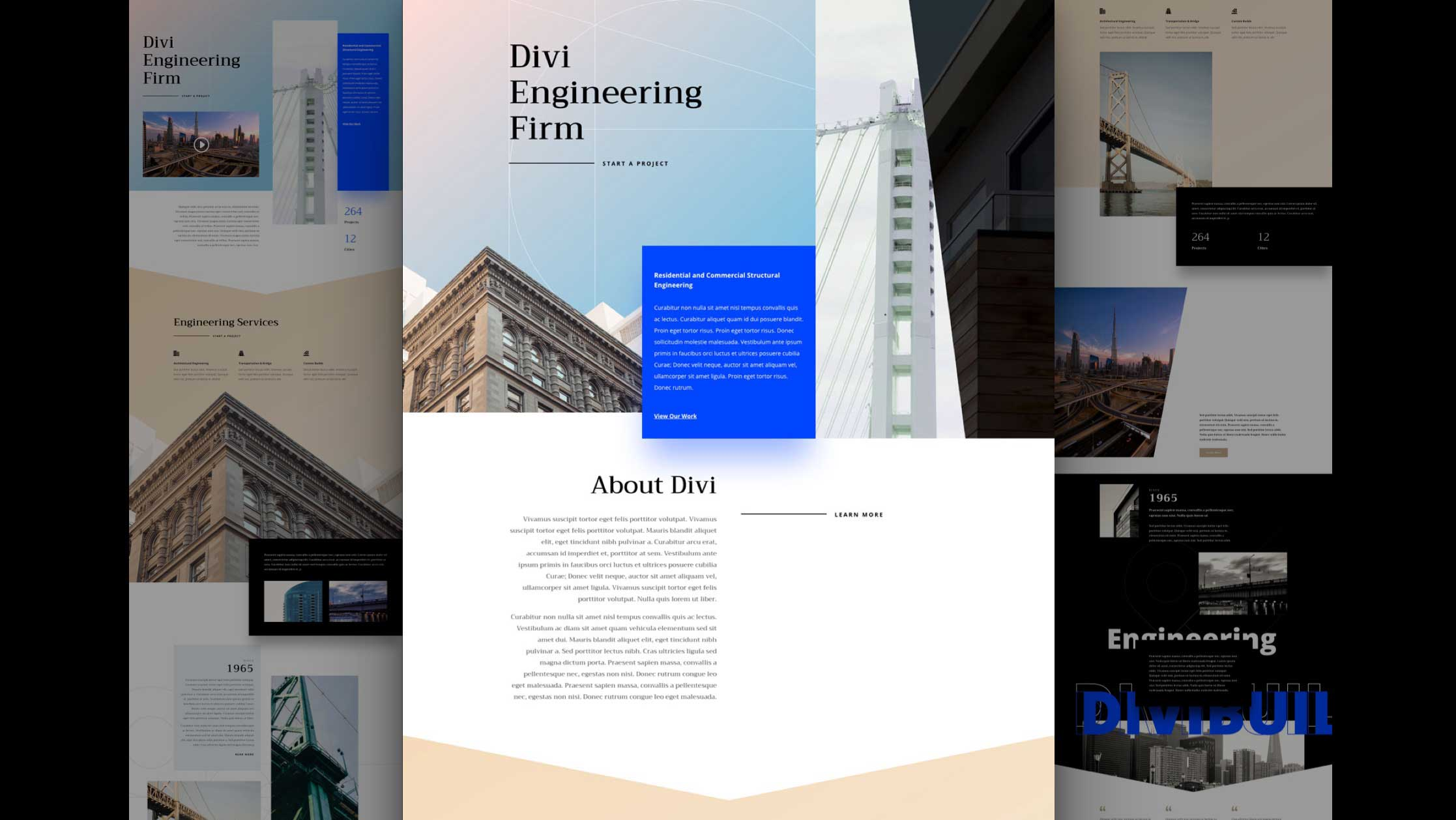 Get a FREE Engineering Firm Layout Pack for Divi