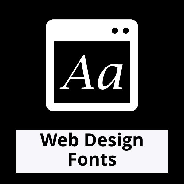 Web Design Fonts