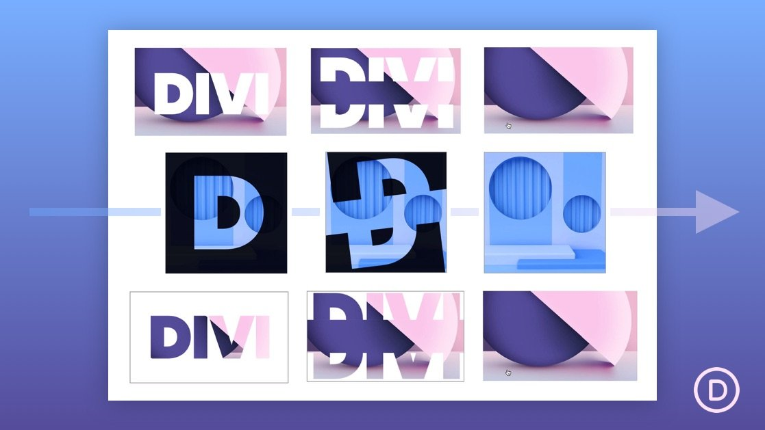 How to Create an Image Overlay with Split Text Shutter Animation Designs in Divi