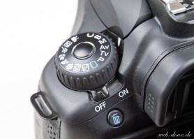 Canon 60D Canon 70D Vergleich Modus Wahlrad